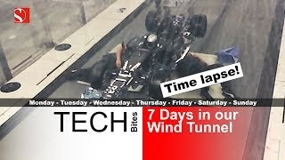 Secrets of F1 Wind Tunnel Testing Revealed - Time Lapse - Sauber F1 Team