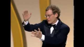 David Letterman Hosts the Oscars in 1995