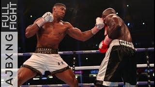 Video Full Fight | Anthony Joshua Vs Carlos Takam TKO MP3, 3GP, MP4, WEBM, AVI, FLV Maret 2019
