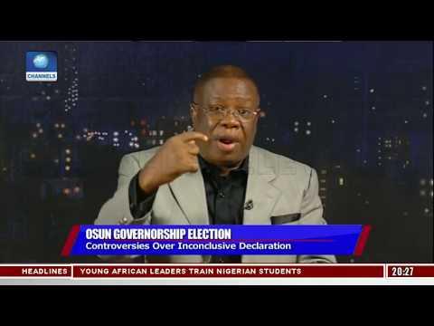 Osun Election: INEC's Declaration Does Not Make Sense - West Idahosa Pt.2 |Politics Today|