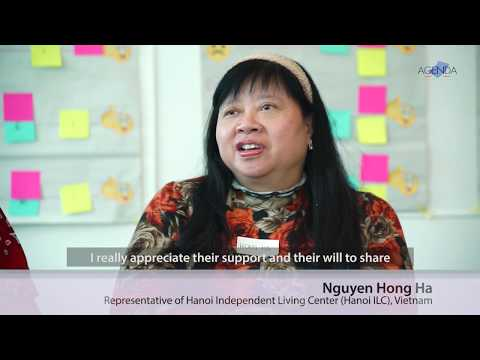 Image of the video: AGENDA Interview with Vietnamese Disability Rights Advocates