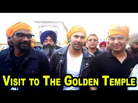 Varun Dhawan's Visit to The Golden Temple along with director Remo D'Souza and Bhushan Kumar