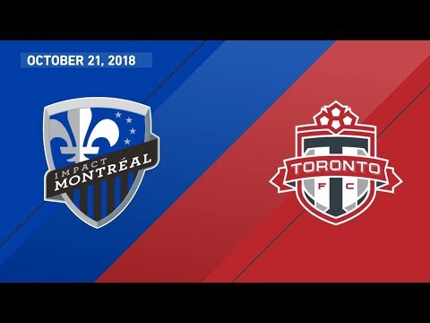 Video: Match Highlights: Toronto FC at Montreal Impact - October 21, 2018