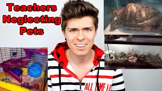 Reacting to CLASS PETS! again... not good by Tyler Rugge