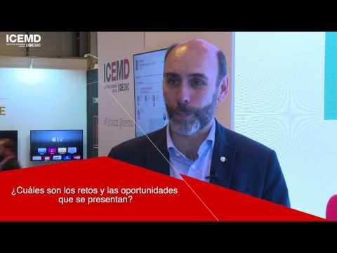 Entrevista a José Luis Sancho, de Accenture Digital, en el Main Square de ICEMD en Futurizz