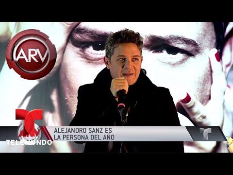 Alejandro Sanz es la Persona del Año en los GRAMMY   Al Rojo Vivo   Telemundo