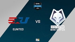 Winterfox vs eUnited, game 1