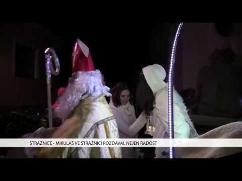 TVS: Strážnice - Mikuláš ve Stážnici rozdával nejen radost