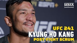 UFC 241: Kyung Ho Kang Wants To Fight In South Korea Next, Targets Urijah Faber  - MMA Fighting by MMA Fighting