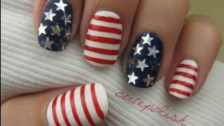 Stars&Stripes: 4th Of July Nail Art