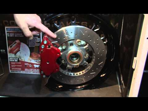 SSBC Brakes Offers a Variety of Brakes meant for a variety of applications here at PRI 2011