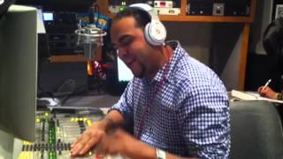 DJ ANEUDY EL GIGANTE LIVE ON LA MEGA 97.9