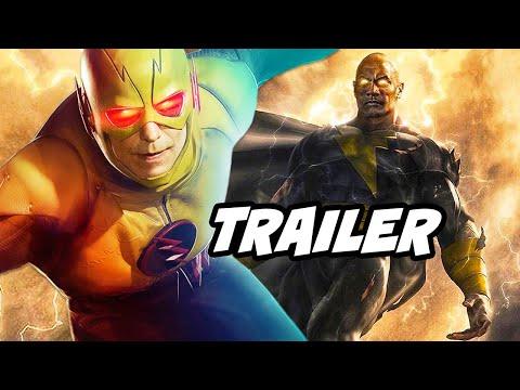 Crisis on Infinite Earths Part 4 Trailer and Black Adam News Breakdown
