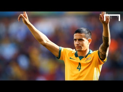tim - We spent some time with Tim Cahill to talk about his pride in being included in the Goal 50 list, who he thinks is the best player in the world and about 'that' goal against the Netherlands...