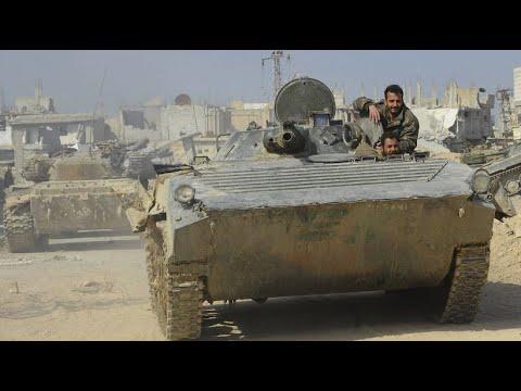 Syrien erhöht militärischen Druck auf Rebellenhochbur ...