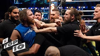 Security guards get wrecked: WWE Top 10, Oct. 20, 2018