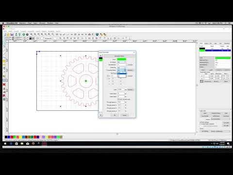 RDworks Tutorial 3 Layer Basics To Scan or Cut for PL1220 CNC Laser Cutters