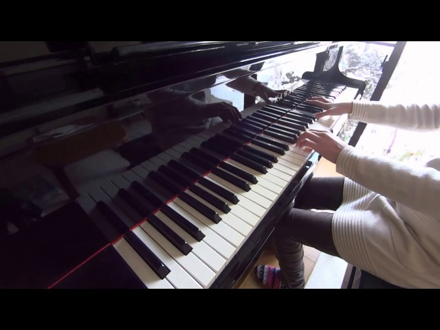 (練習2週間目)バッハの「インベンション8番」を弾いてみた♪