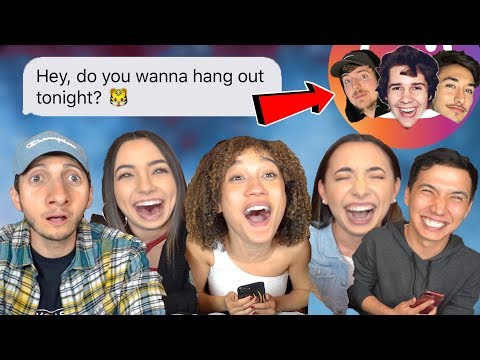 DM'ing Youtubers & Celebrities On Instagram  (ft. Nezza, Merrell Twins, Aaron Burriss)