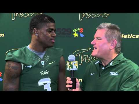 Tre McBride Interview 11/12/2014 video.
