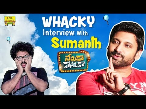 Whacky Interview With Sumanth || Abhishek Maharshi