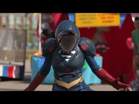 "Supergirl Season 4x04 - Supergirl New Suit Clip "" IRON MAN"" !"