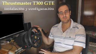 """Instalación paso a paso y configuración inicial del volante para PC y PlayStation """"Thrustmaster T300 GTE""""."""