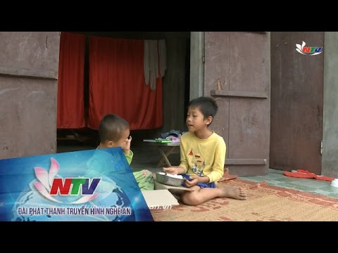 Hoàn cảnh của 2 đứa trẻ mồ côi ở Hoàng Mai