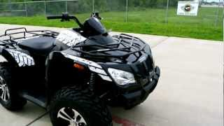 3. Review: 2012 Arctic Cat 425 I SE Metallic Black 4X4