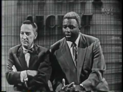 """Joe E. Brown and Jackie Robinson on """"I've Got a Secret"""" (January 9, 1957) - Part 3 of 3"""