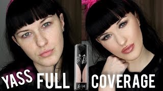 Hellooooo! Long time no see. Today I am showing you my full coverage, long lasting foundation/ complexion routine. Please give it a thumbs up and subscribe for more :)Follow me on Instagram:https://www.instagram.com/__savannahxrose/products used:Urban Decay Optical Illusion PrimerKat Von D Lock it Foundation- Light 48kat von d lock it concealer crème- L3kat von d setting powdertoo faced chocolate soleil bronzerbenefit galifornia blushthe balm mary Loumanizerurban decay all nighter setting spray