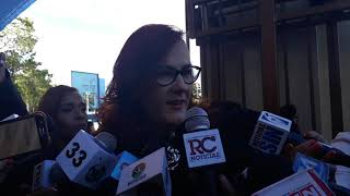 Janet Camilo niega se haya reunido con Marlin Martínez