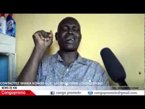 TÉLÉ 24 LIVE: SHAKA KONGO cite tous ceux qui ont participé à la mort d'Emeneya et dit ils seront tous condamné