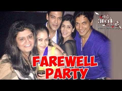 Bade Achhe Lagte Hain : Sexy And Stylish Farewell Party | MUST WATCH 21st July 2014 FULL EPISODE