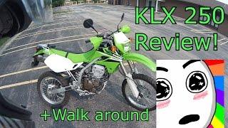 1. Kawasaki Klx 250 Walkaround and Review!