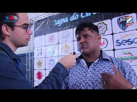 Alessandro presidente da Associação Atlética Judô Futuro (V Copa Judô Futuro)