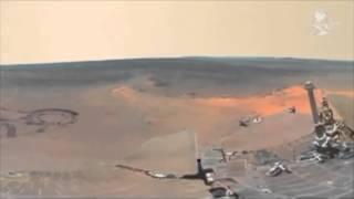 Primera vista panorámica del planeta rojo