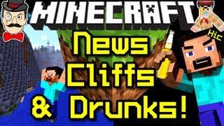 Minecraft News SNOWY CLIFFS&Drunk Jungles!