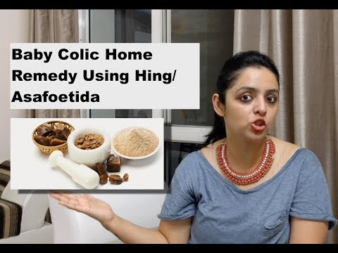 Baby Colic Problem Home Remedy Using Hing/Asafoetida