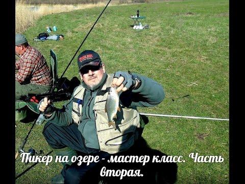 как ловить карася на пикер на пруду весной видео 2015 г