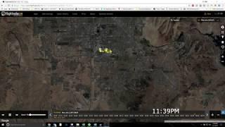 Las Vegas Shooting Flight Radar Data