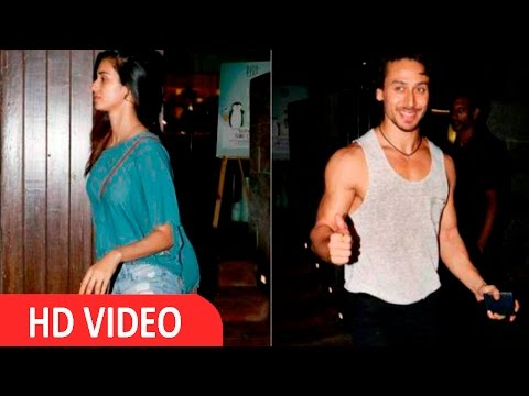 Tiger Shroff Takes Rumoured Girlfriend Disha Patani On A ROMANTIC DATE!