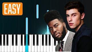 "Video Shawn Mendes - ""Youth"" ft Khalid 100% EASY PIANO TUTORIAL MP3, 3GP, MP4, WEBM, AVI, FLV Juni 2018"