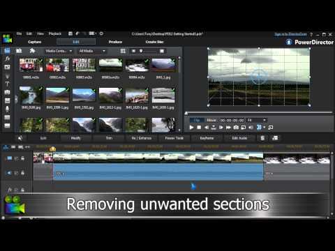 Video Editing Tutorial   Cyberlink PowerDirector 12