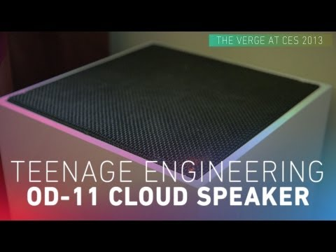 Teenage Engineering OD 11   Worlds First Cloud Speaker