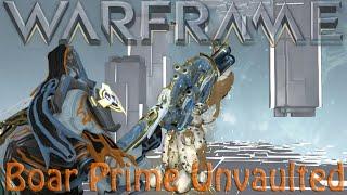 Warframe - Boar Prime -=Status or Crit?=-