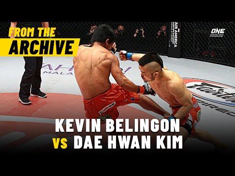 Kevin Belingon vs. Dae Hwan Kim | ONE Championship Full Fight | March 2014