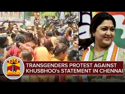 Transgenders-Protest-Against-Khushboos-Statement-Transgenders-Ineligible-To-Stand-For-Election