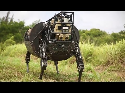 Video MOST BRUTAL US Military Drill for Robot Dog Technology download in MP3, 3GP, MP4, WEBM, AVI, FLV January 2017