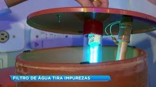 Inventor cria filtro de água ultramoderno em Ourinhos